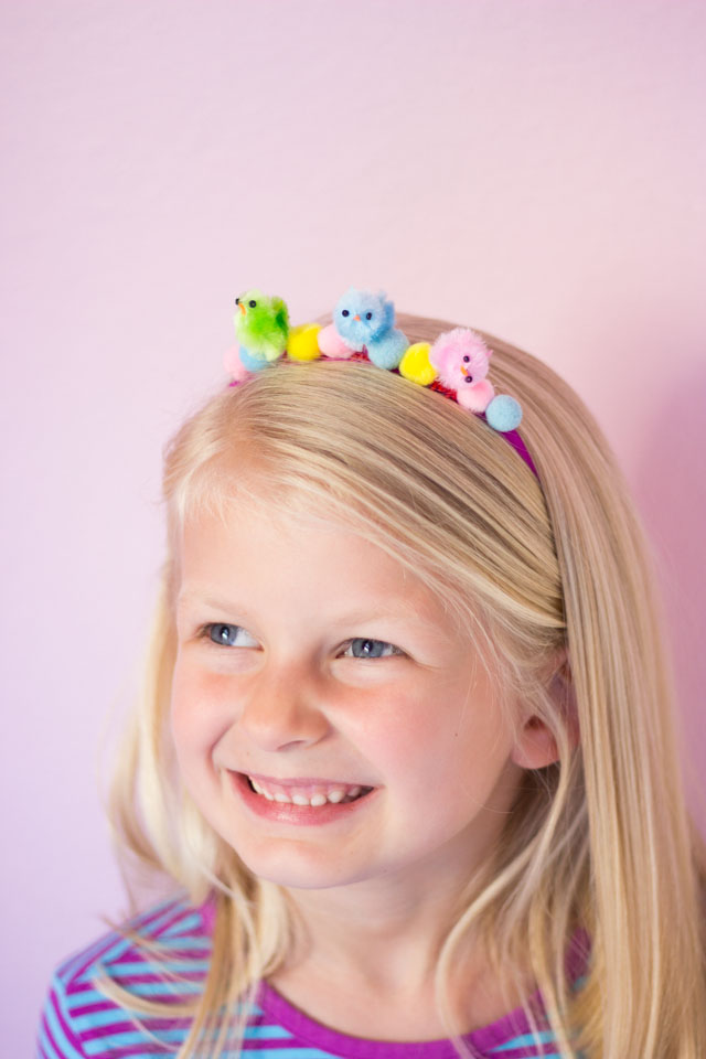 DIY Kids Easter Headbands