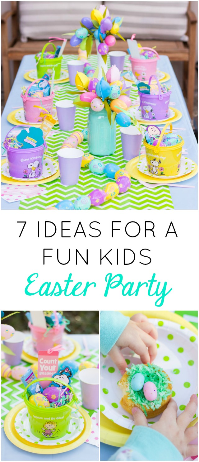 Love all these ideas for a fun kids Easter party!