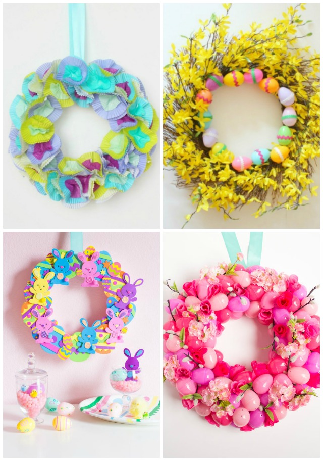 10 Gorgeous DIY Easter Wreaths