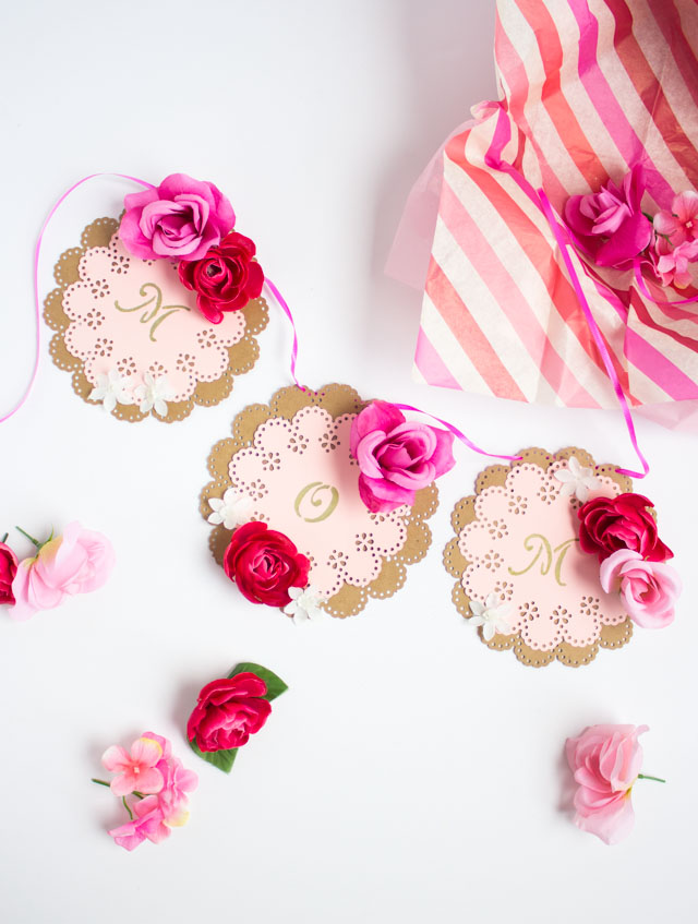 DIY Mother's Day Garland