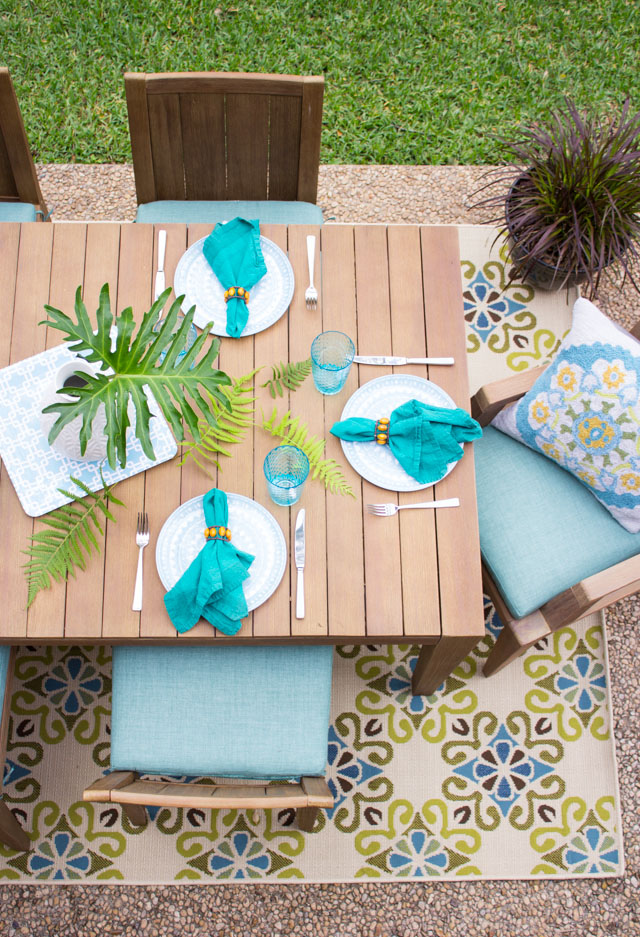 Simple patio decorating ideas to get your space ready for summer!