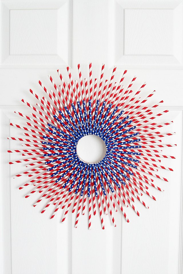 Image Result For Th Of July Wreath Diy