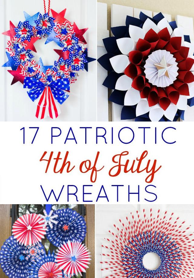 17 Inspiring DIY Patriotic Wreaths to Try!