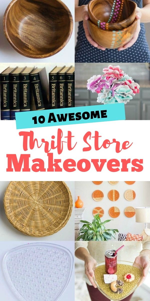10 thrift store upcycle crafts