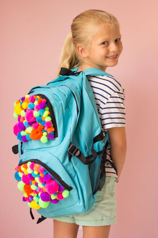 Pom Pom Backpack!