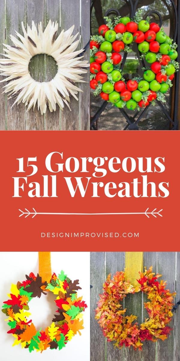 15 Gorgeous Fall Wreath Ideas for 2020