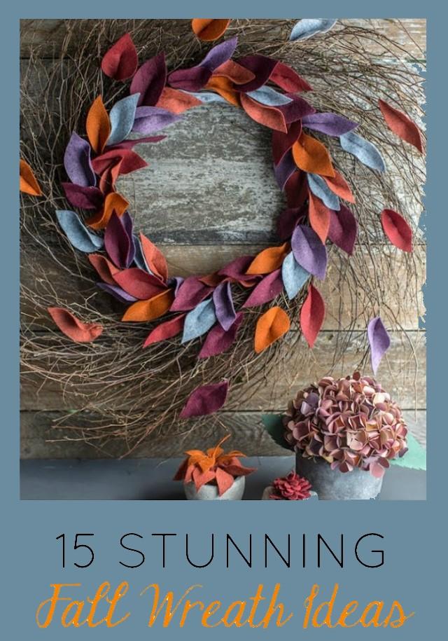 15 Stunning Fall Wreath Ideas for 2020