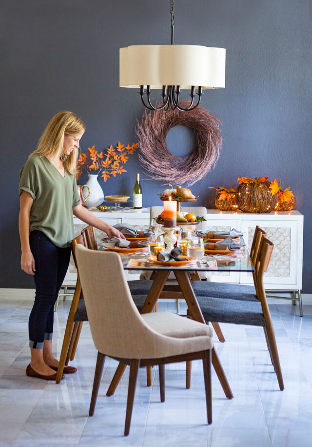 Fall dining room table ideas