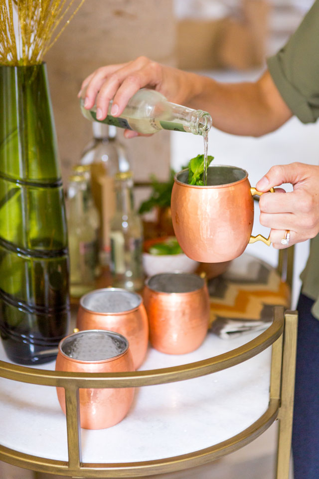Moscow mules are the perfect cocktail for fall!