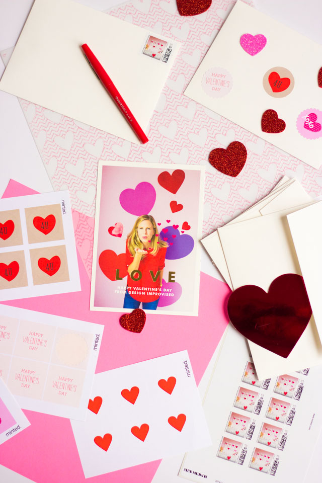 Love these Minted Valentine cards and stickers!