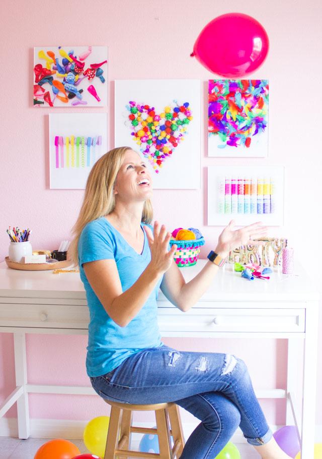 Craft room ideas from Design Improvised blog