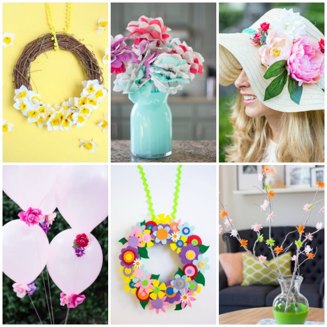 DIY Flower Crafts from Design Improvised