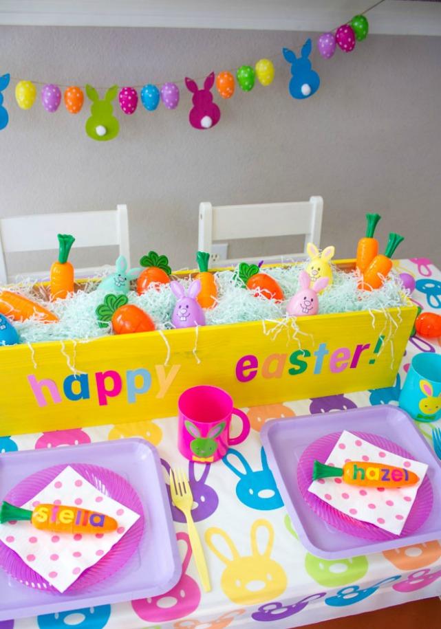 Host a Kids Easter Bunny Brunch