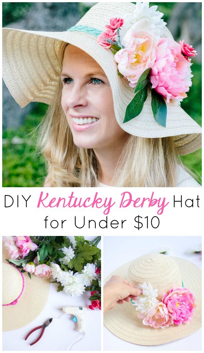 DIY Kentucky Derby Hat for Under $10