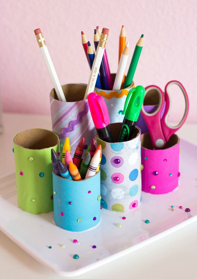 Kids Craft Week: DIY Desk Organizer