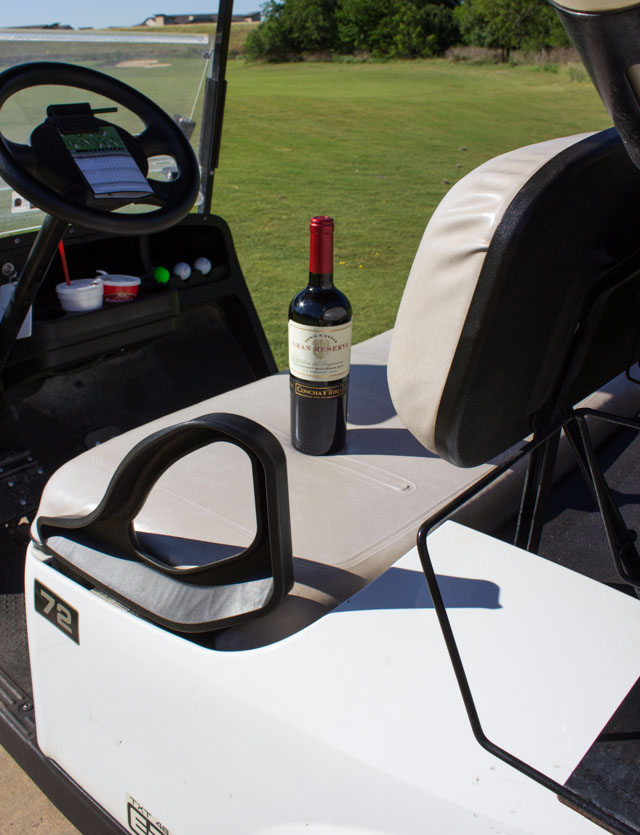 Enter to win a free year of golf with Concha y Toro Gran Reserva Wine!