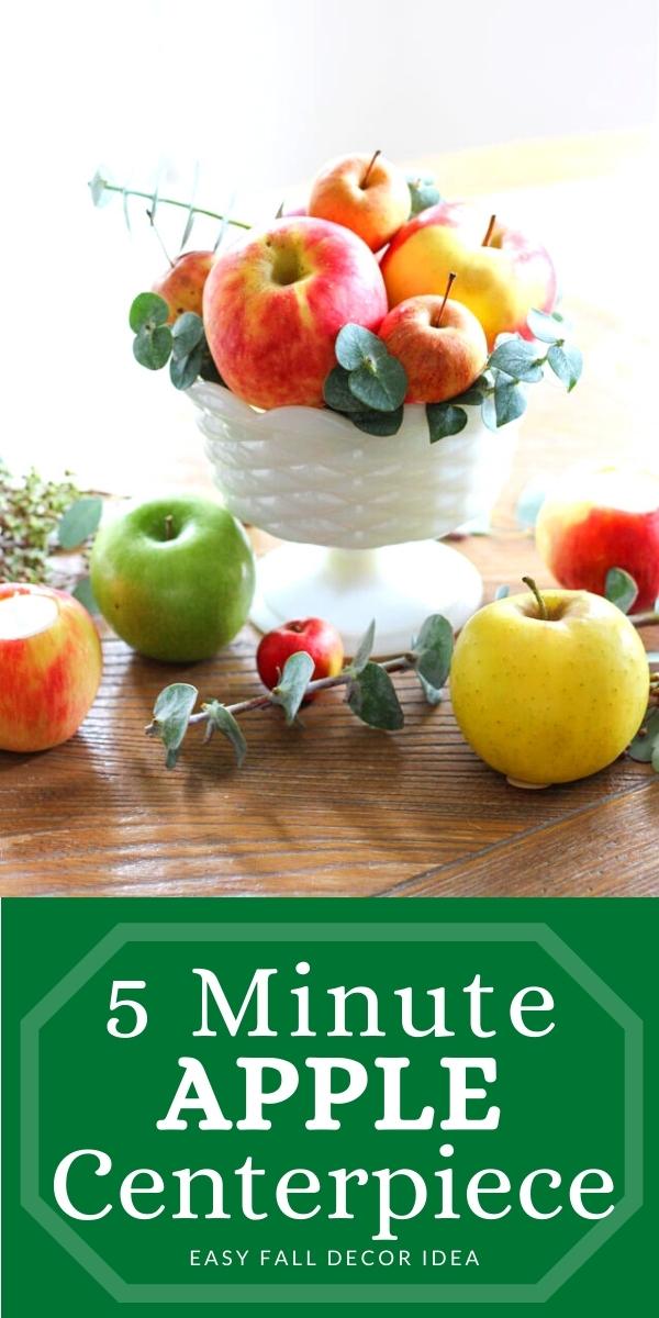 Fall Apple Centerpiece Idea