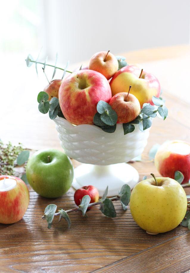Make a Fall Apple Centerpiece
