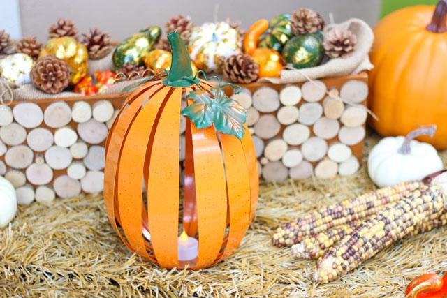 How cute are these pumpkin lanterns?