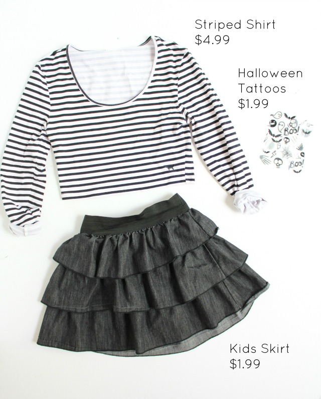 Girls rock band Halloween costume idea from the Goodwill