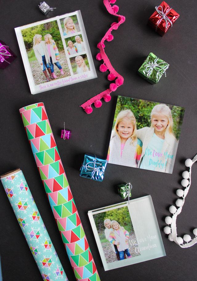 Acrylic photo blocks from Mixbook