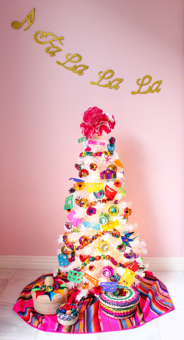 Ideas for Fiesta Christmas tree decorations