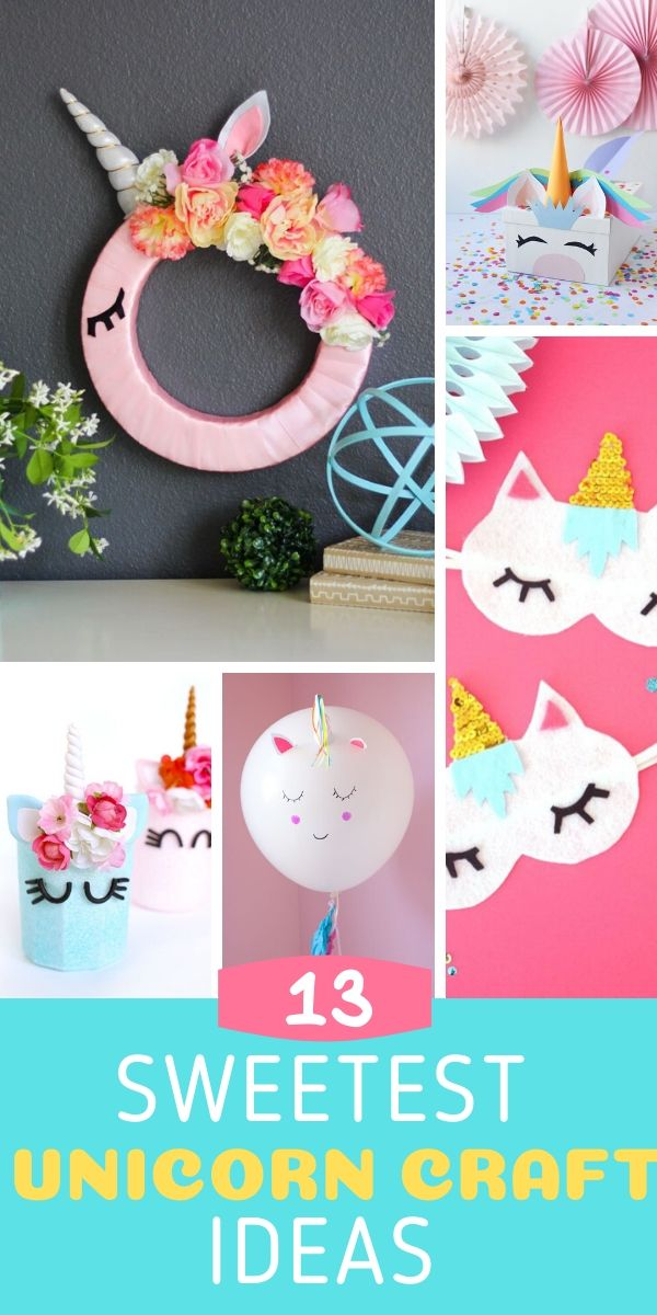 13 Easy Unicorn Craft Ideas