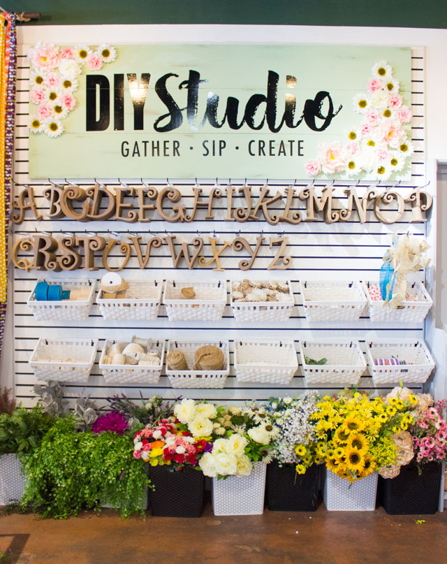 DIY Studio - a place to gather, sip and create in San Antonio!