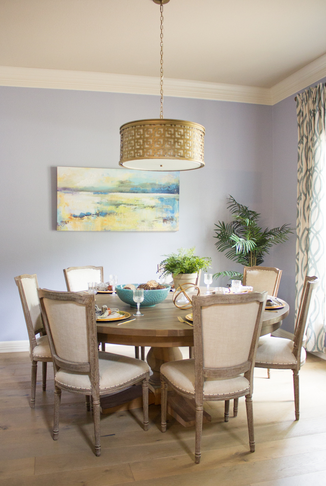 Olivia's Serene Dining Room Makeover