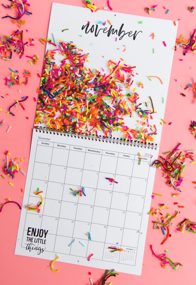 Make your own custom calendar with Mixbook! This craft supply calendar is so fun! #diycalendar #calendarprintable #craftsupplies #mixbook Make your own custom calendar with Mixbook! This craft supply calendar is so fun! #diycalendar #calendarprintable #craftsupplies #mixbook #2019calendar
