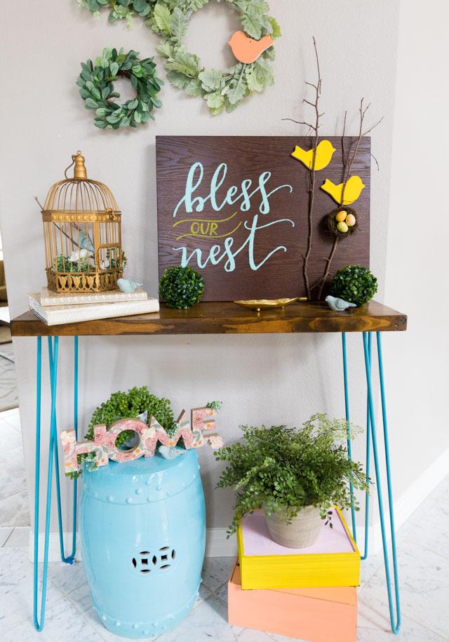 Bless Our Nest DIY bird decor ideas