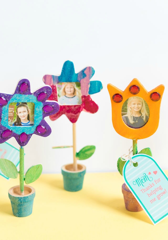 Mom Week: Mother's Day DIY Photo Flowers