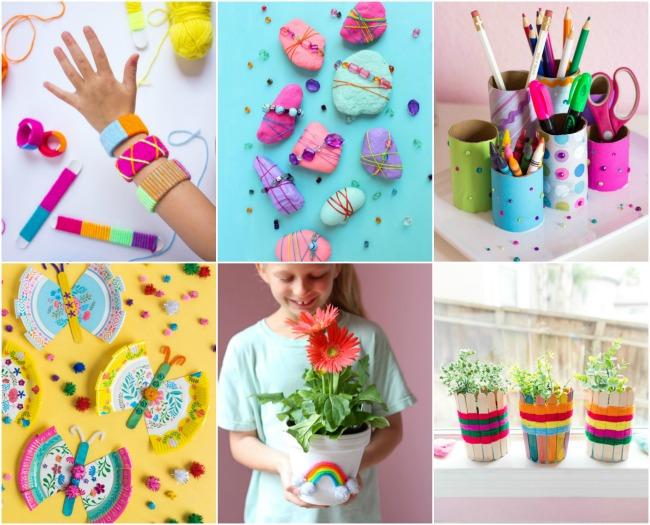 Kids craft ideas on Design Improvised blog