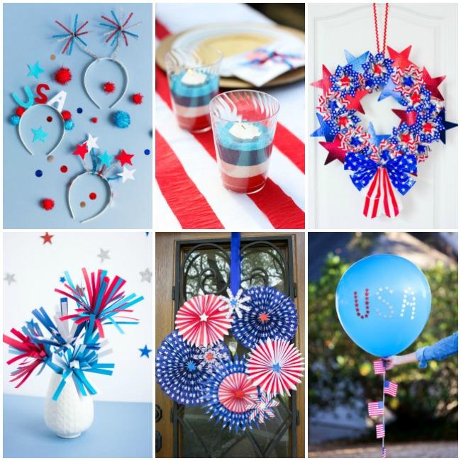 Patriotic Fourth of July Craft Ideas