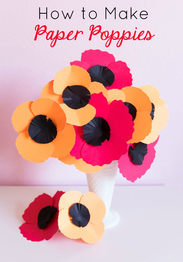 How to Make Easy Paper Poppies