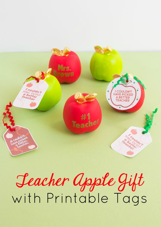 photo regarding Free Printable Teacher Appreciation Tags identified as Free of charge Printable Trainer Appreciation Tags - Style and design Improvised