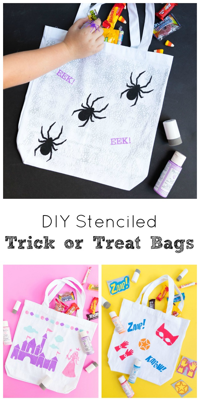 How to make your own trick or treat bags