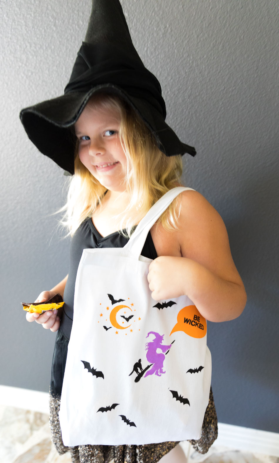 DIY Witch Trick or Treat Bag