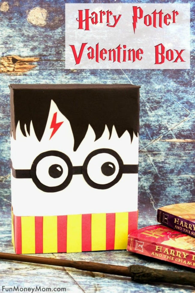 Harry Potter Valentine Box Idea
