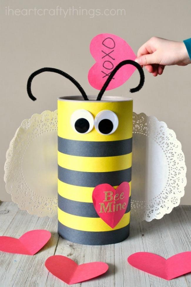Bumblebee Valentine Box