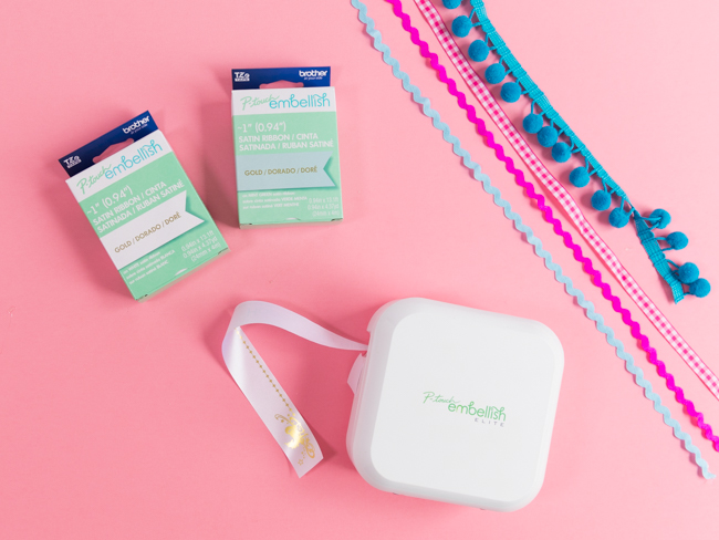 How to use the P-touch Embellish Elite label printer
