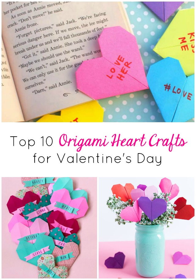 10 Origami Heart Crafts to Try This Valentine's Day
