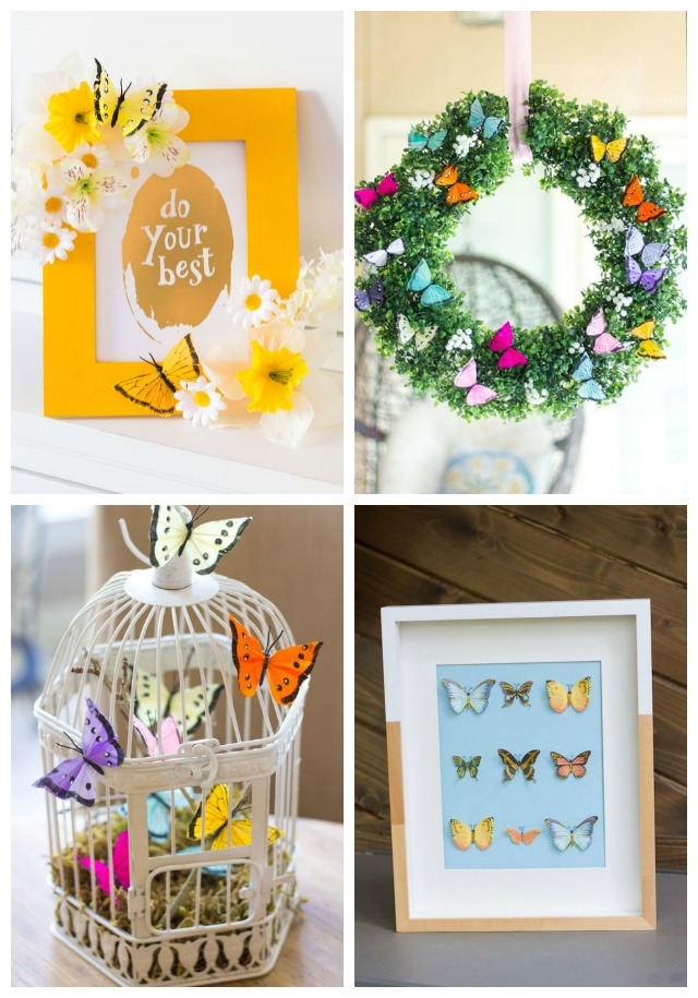 16 DIY Butterfly Decor Ideas for Adults