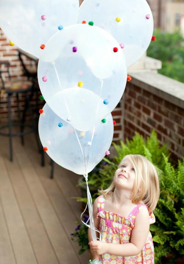 DIY Pom-Pom Balloons