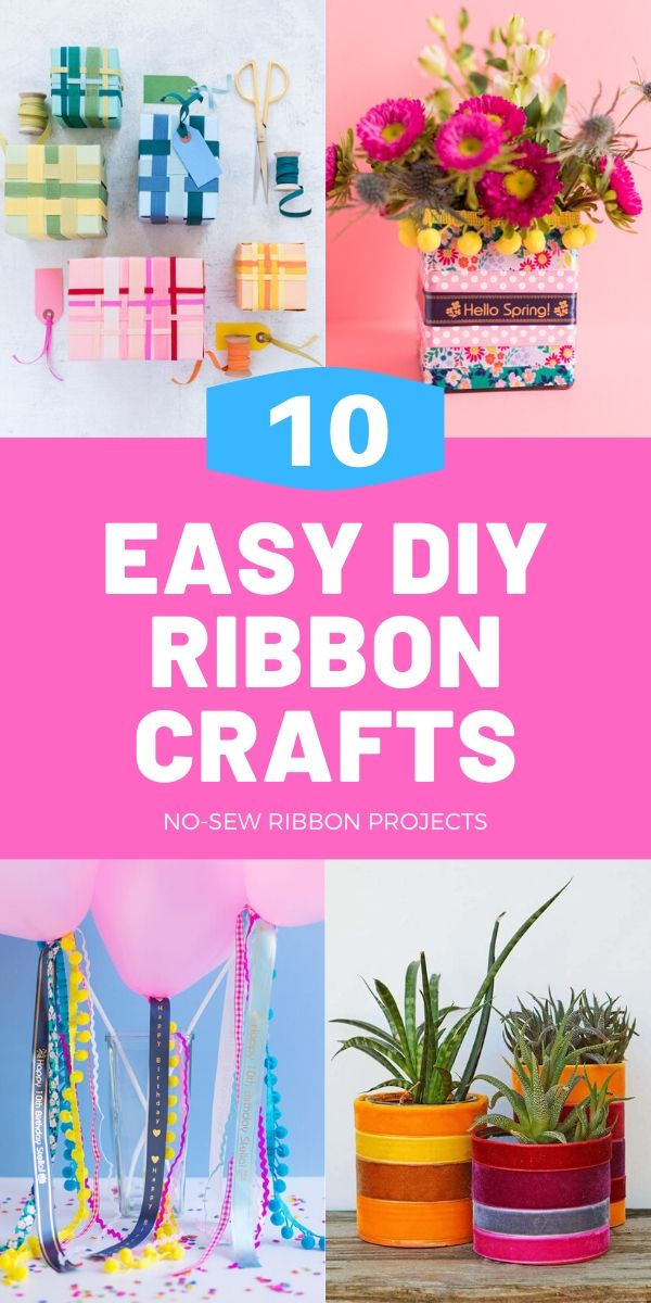 Easy crafts to do with ribbon