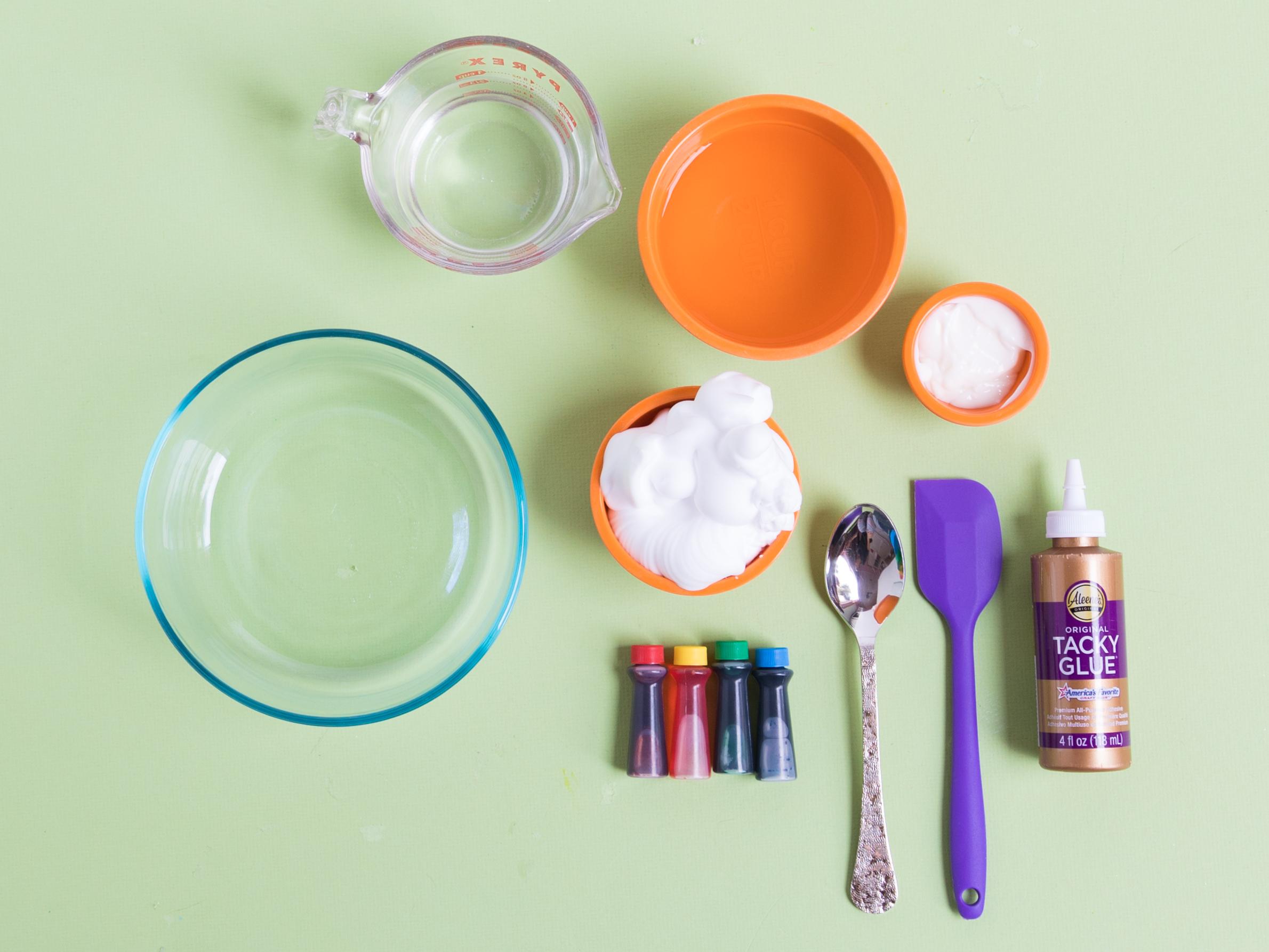 Fluffy Slime Ingredients