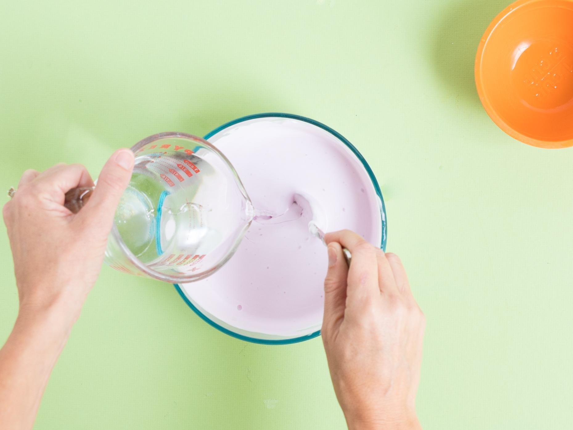 Adding Borax to fluffy slime