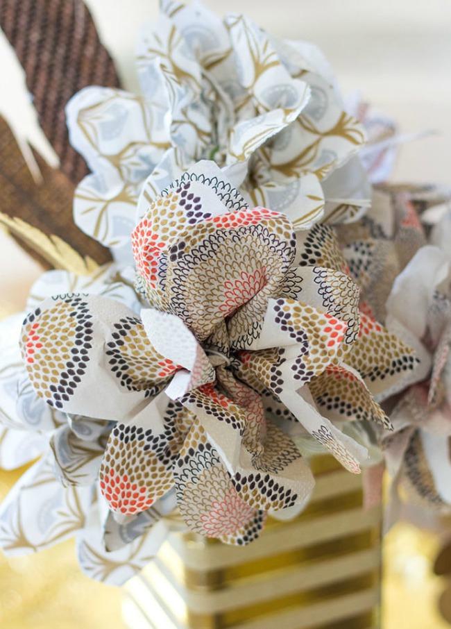 DIY Napkin Flowers