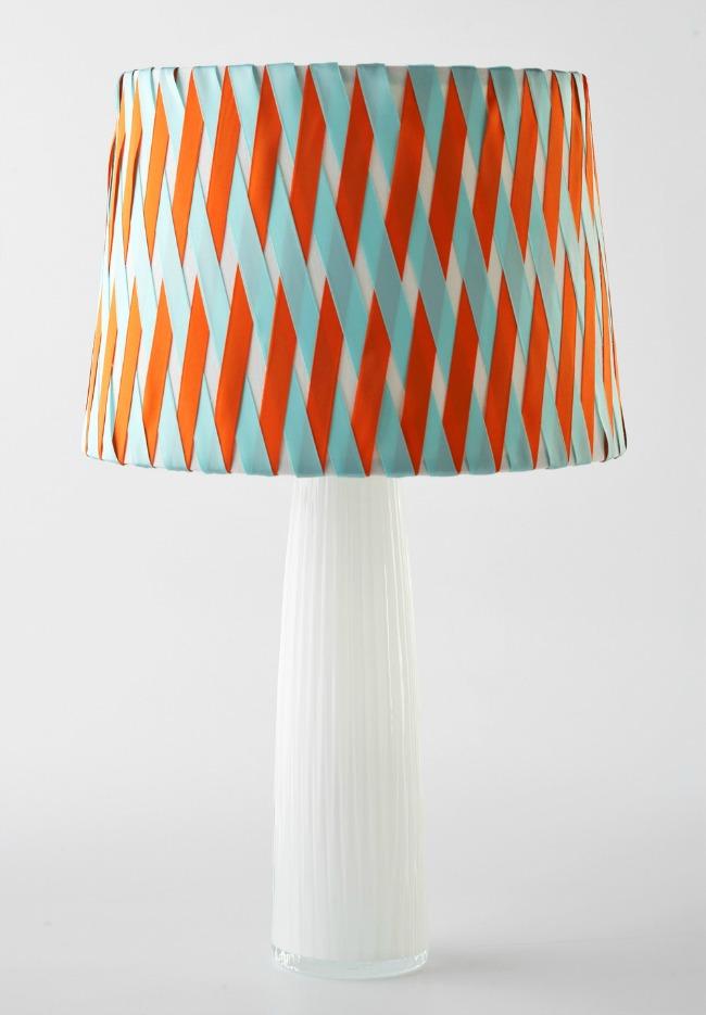How to make a ribbon lampshade