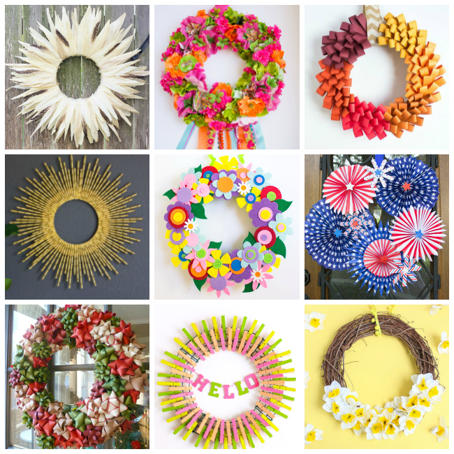 DIY Wreaths from Design Improvised